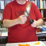 Ask Chef Christy teaching Knife Skills