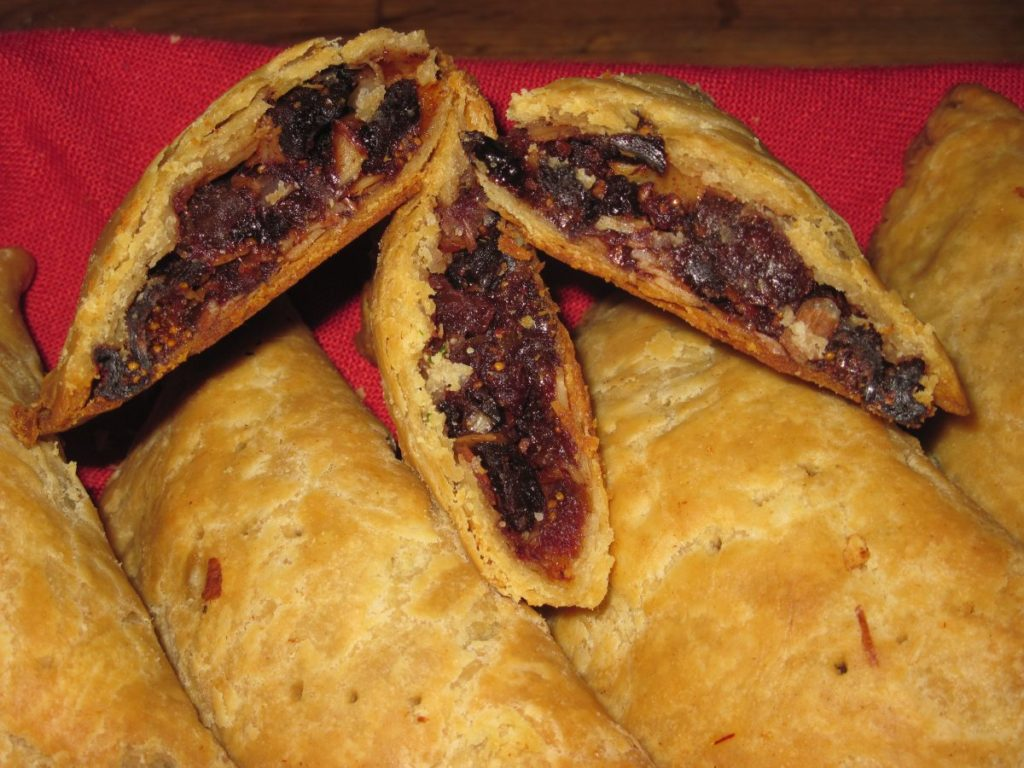 Ask Chef Christy - Ryschewys - medieval hand pies filled with dried fruits and spices