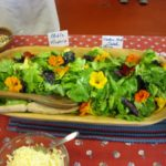 Ask Chef Christy - Edible Flower Salad