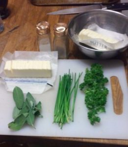 Herbs in Cooking Herbed Compound Butter
