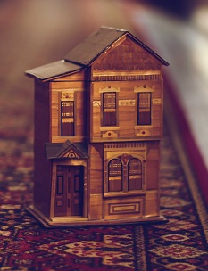 A miniature house